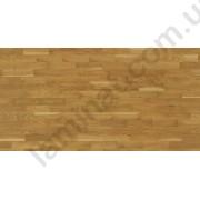 На фото Паркетная доска Magnum 3-полосные дубовые декоры не тонированные Дуб ладья