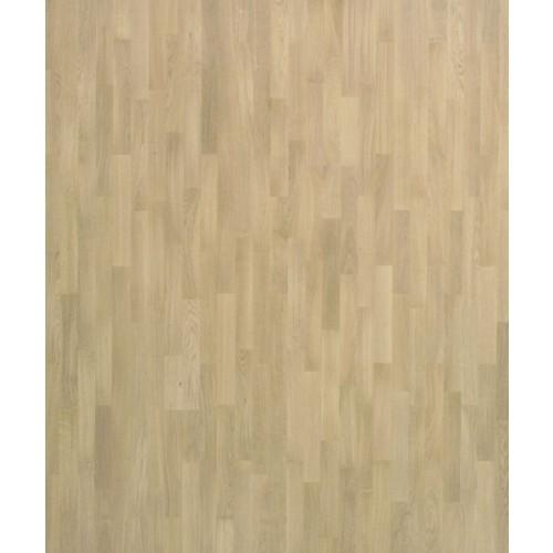 Паркетная доска 3-полосные декоры (SFB), под натуральным маслом OSMO 3.59 Evroparkett Дуб 3-полосный белые поры (белое масло OSMO,браш)  дуб