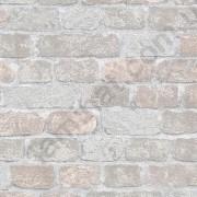На фото Обои Marburg Brique метровый 97985