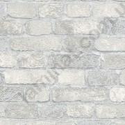 На фото Обои Marburg Brique метровый 97986