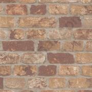 На фото Обои Marburg Brique метровый 97984