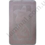 На фото SHELL PC1 bath mat 0.60x1.00 Pink 0.6x1