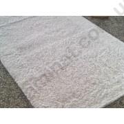 На фото NATURA HEAVY bath mat 0.60x1.00 White 0.6x1
