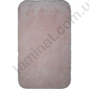 На фото MIAMI bath mat 0.60x1.00 Pastel Pink 0.6x1