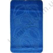 На фото FLORA PC1 bath mat 0.50x0.80 Blue 0.5x0.8.