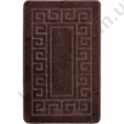 На фото ETHNIC PC1 bath mat 0.50x0.80 Brown 0.5x0.8.