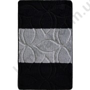 На фото ERDEK PC1 bath mat 0.50x0.80 Black 0.5x0.8.