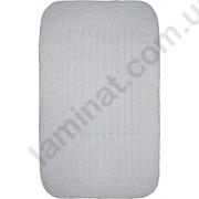 На фото COTTON STRIPE bath mat 0.60x1.00 White 0.6x1