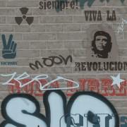 На фото Обои P+S Graffiti 05707-10