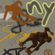 На фото Обои P+S Graffiti 05708-10