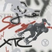 На фото Обои P+S Graffiti 05708-20