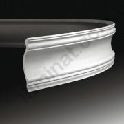 На фото Лепнина Европласт Интерьерная Европласт Карниз  К-117 (гибкий) 1.50.117 (гибкий)