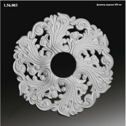 Лепнина Европласт Интерьерная Европласт Розетка Р-03 1.56.003