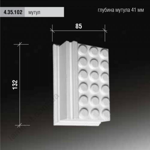 Лепнина Европласт Фасадная Европласт МУТУЛ 4.35.102