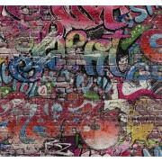 На фото Обои P+S Graffiti 05530-10